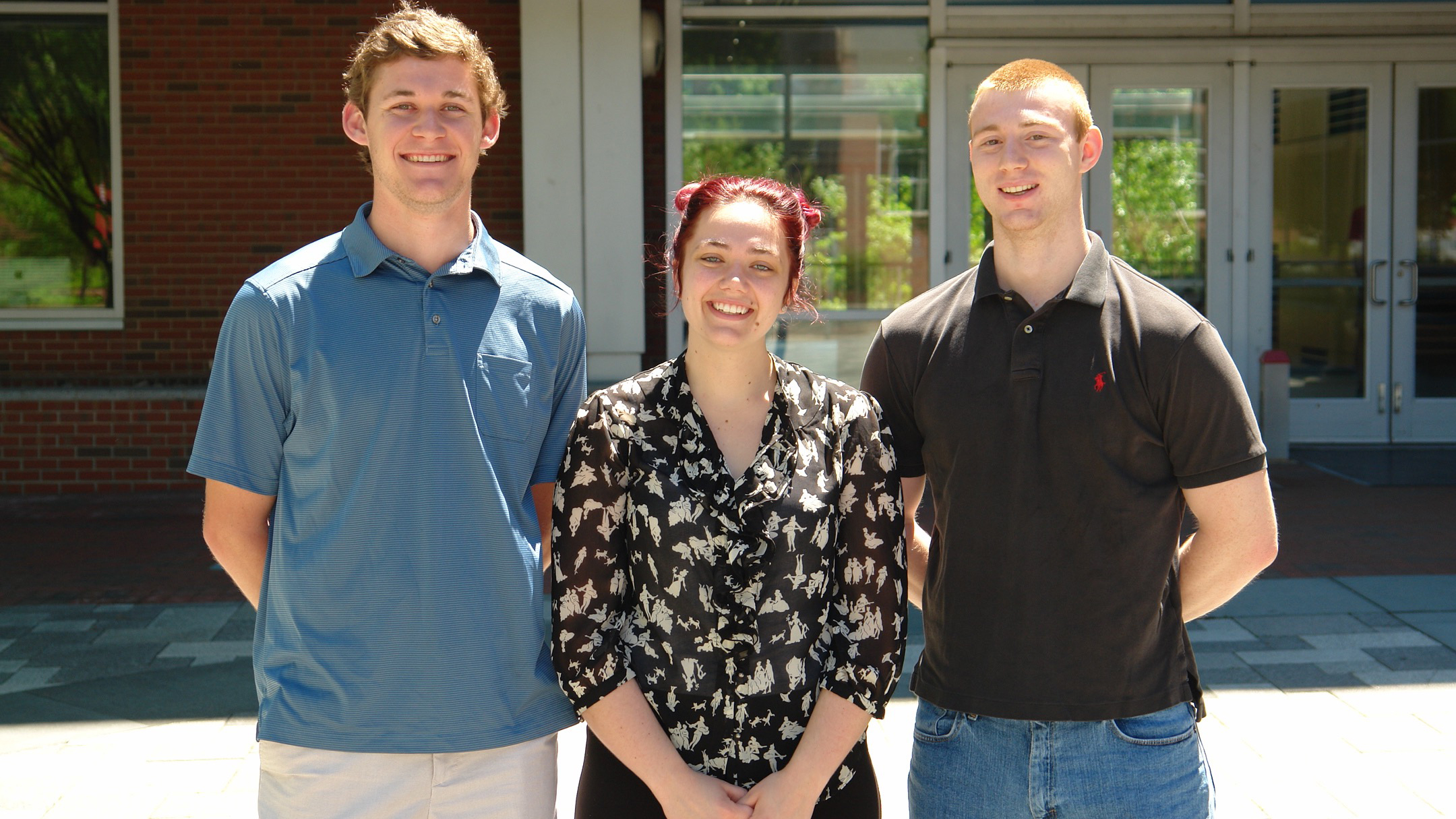 Davis Atkinson, Jaye Sudweeks and Graham Pash, Outstanding Winners in the Mathematical Contest in Modeling