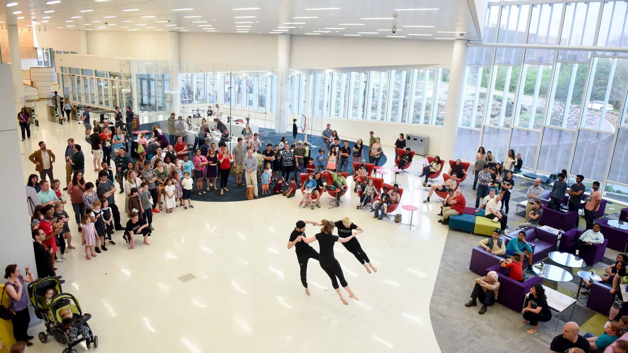 Math Dance performance at State of the Sciences 2018