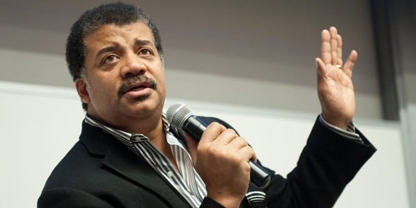Neil deGrasse Tyson speaks at NC State