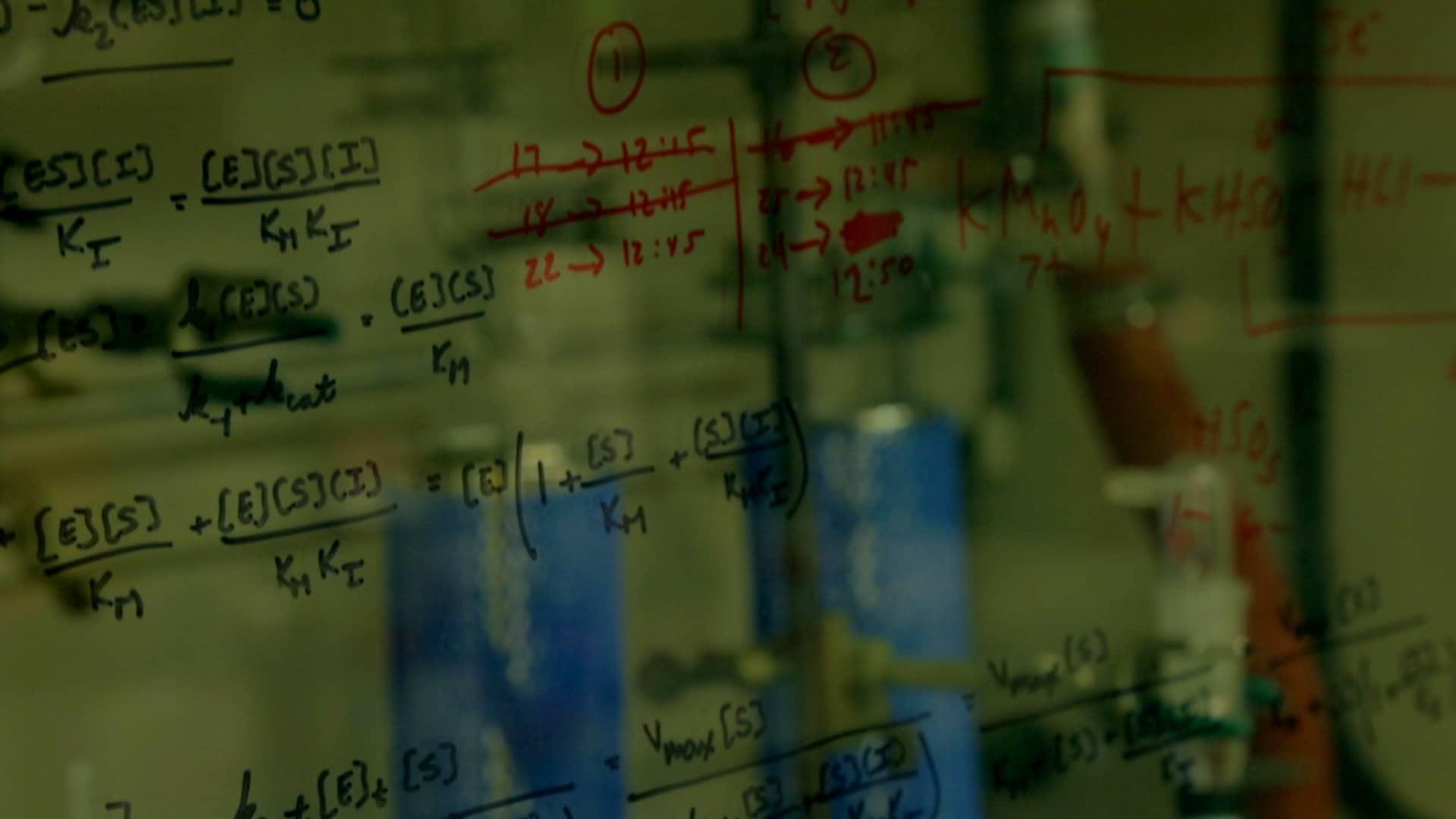 Elon Ison chemistry lab video