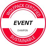 NC State Sustainable Event Champion logo