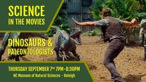 Science in the Movies: Dinosaurs and Paleontologists