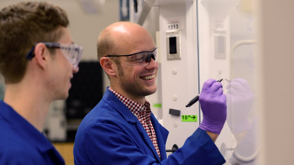 Joshua Pierce, NC State Chemistry