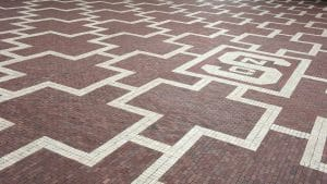 Block S on the NC State Brickyard