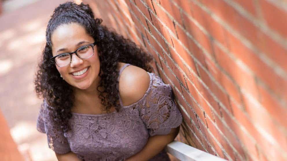 Biological Sciences Student Gabby Mamlouk