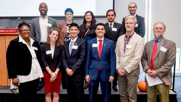 Finalists for 2017 Three Minute Thesis competition