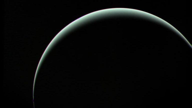 silhouette of Uranus