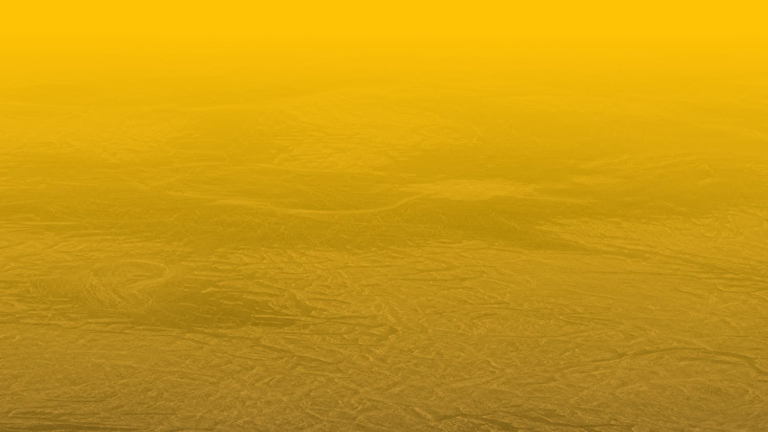 Simulated view of Venus